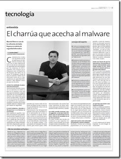 Marcelo Rivero en El Observador