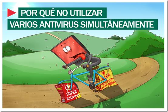 ¿Por qué no utilizar varios antivirus simultáneamente?