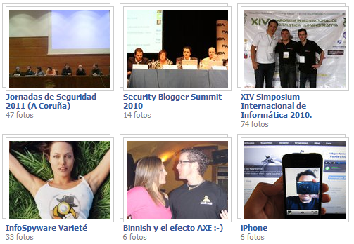 Ver las Fotos de InfoSpyware en Facebook