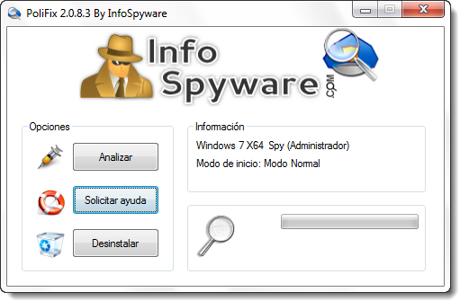 PoliFix 2.0.8.3 (by InfoSpyware)