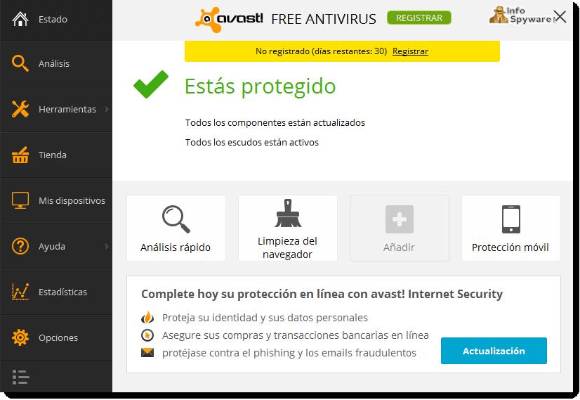 avast! Free Antivirus 2015