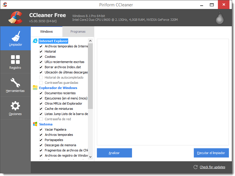 CCleaner 5.00