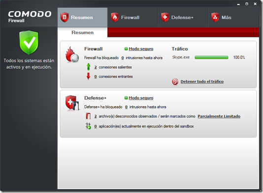 Comodo Firewall (Gratis)