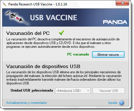 Panda USB Vaccine 1.0.1.16