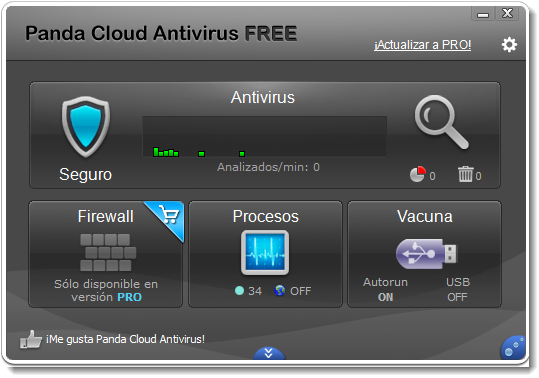 Panda Cloud Antivirus 2.3 (Gratis)