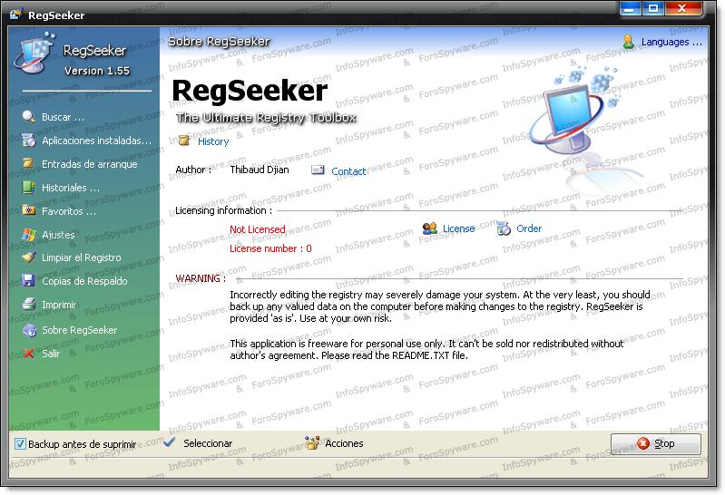 RegSeeker 2.55