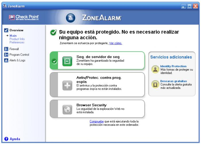 ZoneAlarm Free Firewall 2013